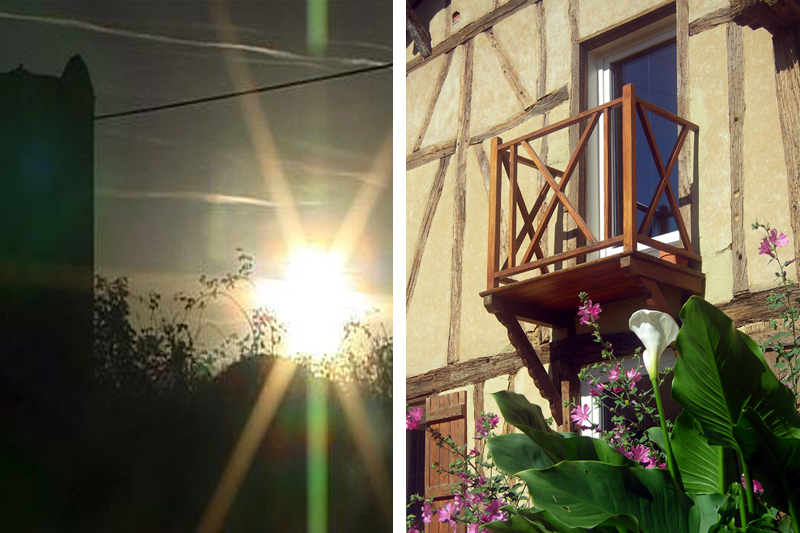 Chambre Balcon Ext - Belliette - Gers - Chambre hotes - Ok
